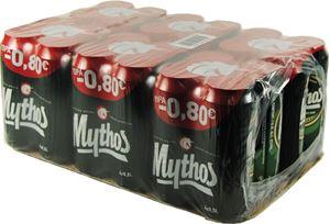 MYTHOS ΚΟΥΤΙ 6Χ4X500ml